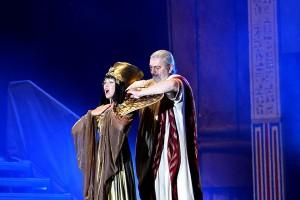 muzikál Kleopatra Divadlo Broadway Pezinok Kamila Nývltová Daniel Hůlka