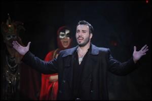 Václav Noid Bárta v muzikálu Hamlet
