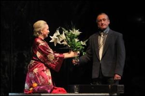 Kamil Střihavka a Bára Basiková