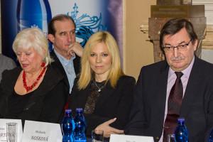 Zdena Herfortová, Jaromír Dulava, Michaela Nosková a Zdeněk Barták