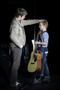 Tomáš Löbl s malým Čusbusem