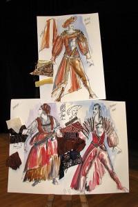 Návrhy kostýmů