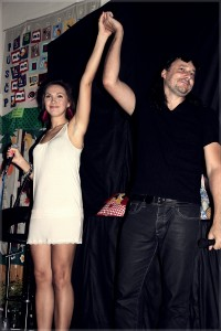 Léto plné hvězd 2012 Kamila Nývltová Marián Vojtko