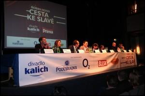 Tisková konference v Divadle Kalich