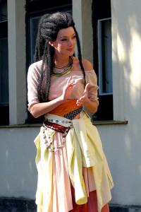Aida muzikál Dasha