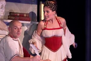 "muzikál Kleopatra Divadlo Broadway (""Fúrie"") Alžbeta Bartošová"