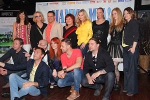 Hvězdy muzikálu Mamma Mia na první tiskové konferenci
