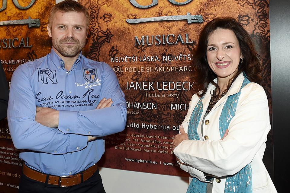 Zbyněk Fric a Dita Hořínková