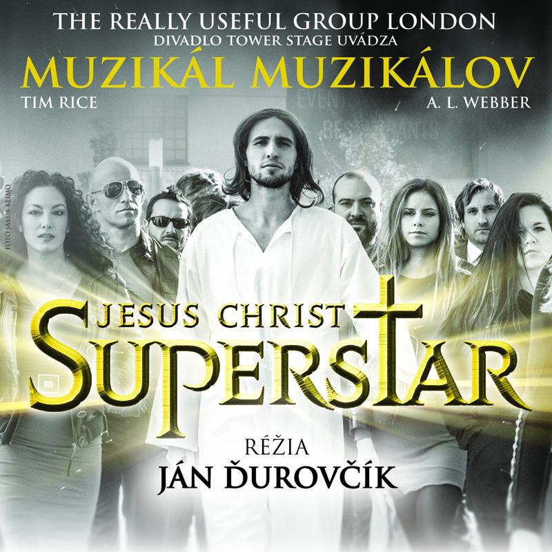 Ján Ďurovčík uvede Jesus Christ Superstar s Romanem Tomešem a Patrikem Vyskočilem v hlavní roli