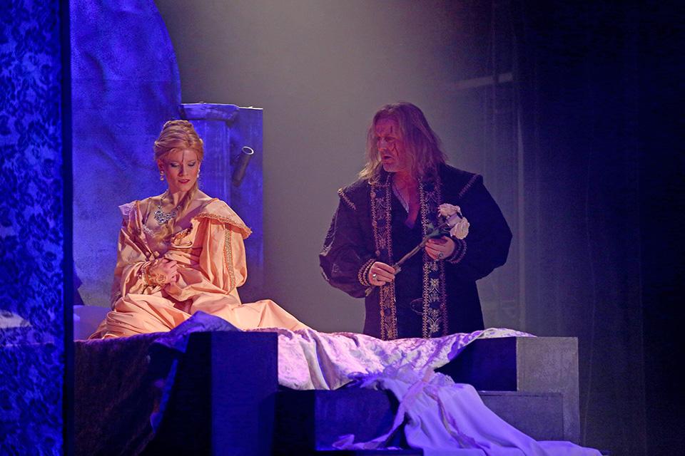 Svatební noc (Michaela Gemrotová a Josef Votejk)