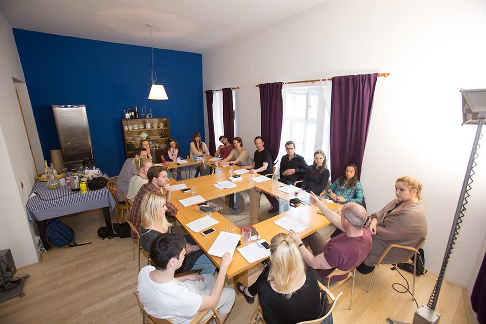 První společné setkání protagonistů a tvůrců