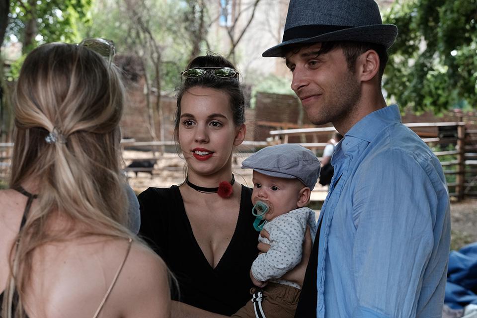 Michaela, Kristián a Roman Tomešovi