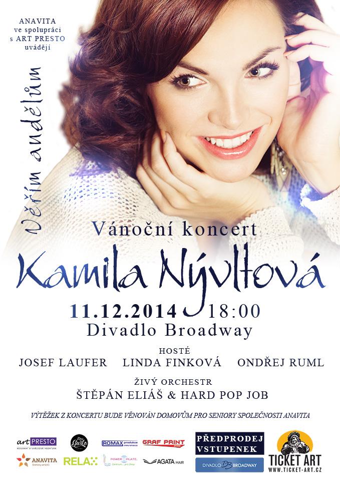 Kamila Nývltová věří andělům (+ soutěž o vstupenky)