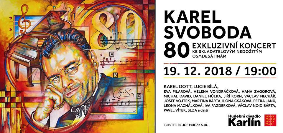 Jeden z vizuálů koncertu Karel Svoboda 80