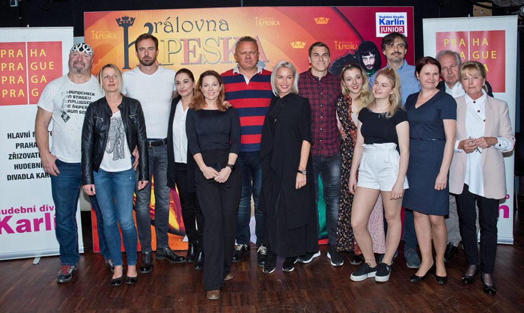 Královna Kapeska 2019 Hudební divadlo Karlín