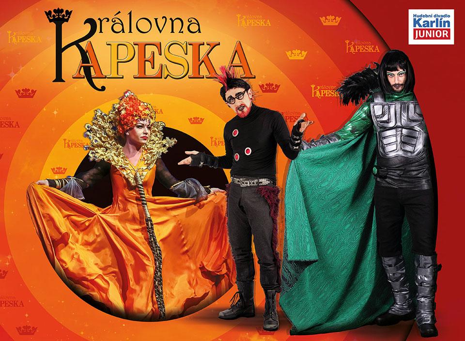 Nový vizuál rodinného muzikálu Královna Kapeska Hudební divadlo Karlín