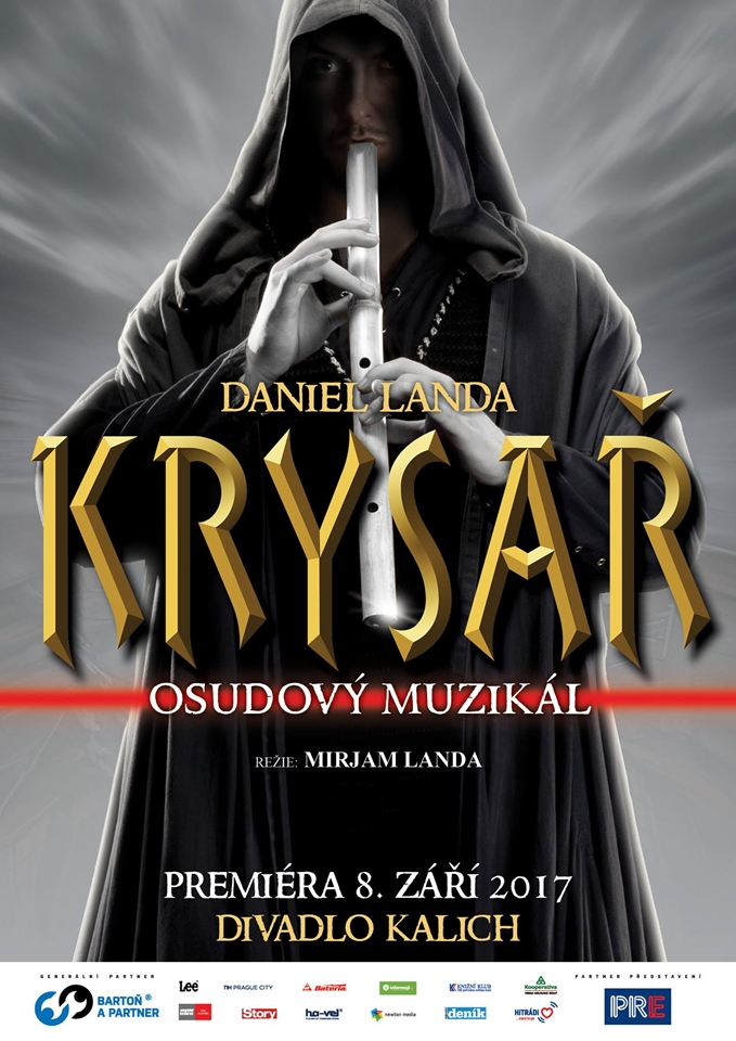 Vizuál muzikálu Krysař