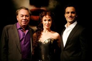 Andrew Lloyd Webber, Sierra Boggess a Ramin Karimloo