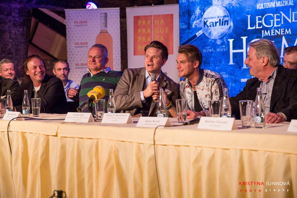 Na tiskové konferenci vládla dobrá nálada a nadšení z projektu