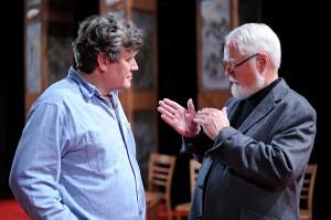 Miroslav Hanuš a Robert Fulghum v ABC
