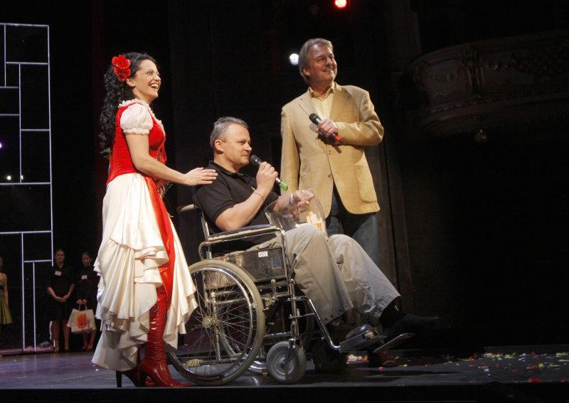 """Karlínský muzikál """"Carmen"""" přivítal dalšího jubilejního diváka"""