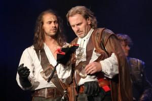 muzikál Tři mušketýři Divadlo Broadway Tomáš Beroun Josef Vojtek