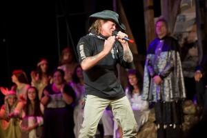 Vilém Čok diváky roztleskal Songem krále Heroda