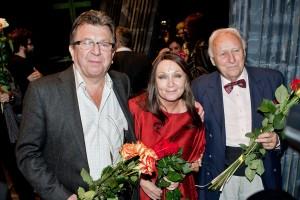 Michael Prostějovský, Bára Basiková a Arnošt Moulík