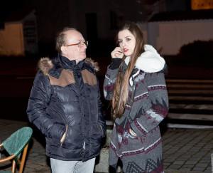 Petr Janda s dcerou Eliškou