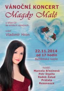 Magda Malá Vánoční koncert 2014