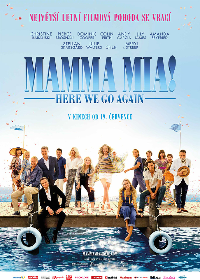 Plakát - Mamma Mia! Here We Go Again