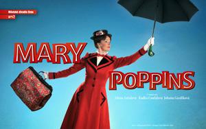 """""""Mary Poppins"""" – konkurz na doobsazení vedlejších rolí pražského uvedení muzikálu"""