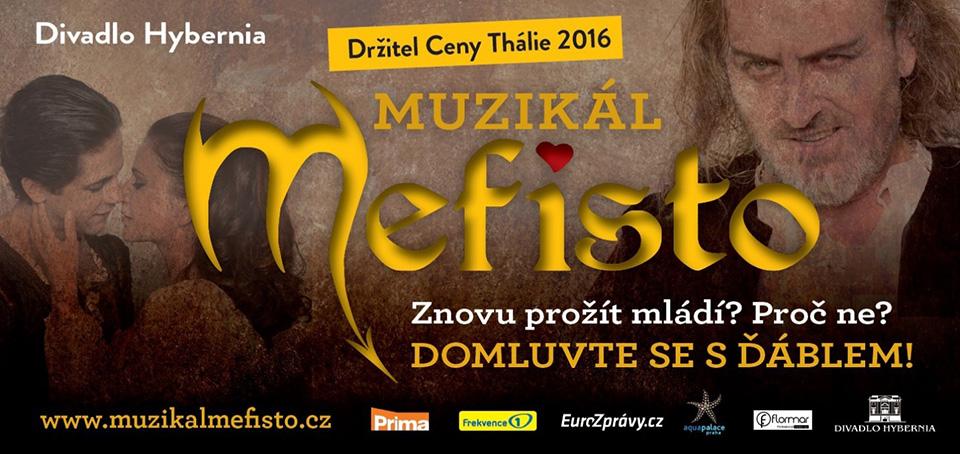 Muzikál Mefisto Divadlo Hybernia