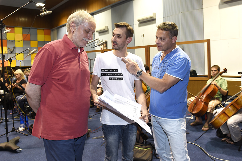 Zdeněk Zelenka, Daniel Barták a Filip Renč