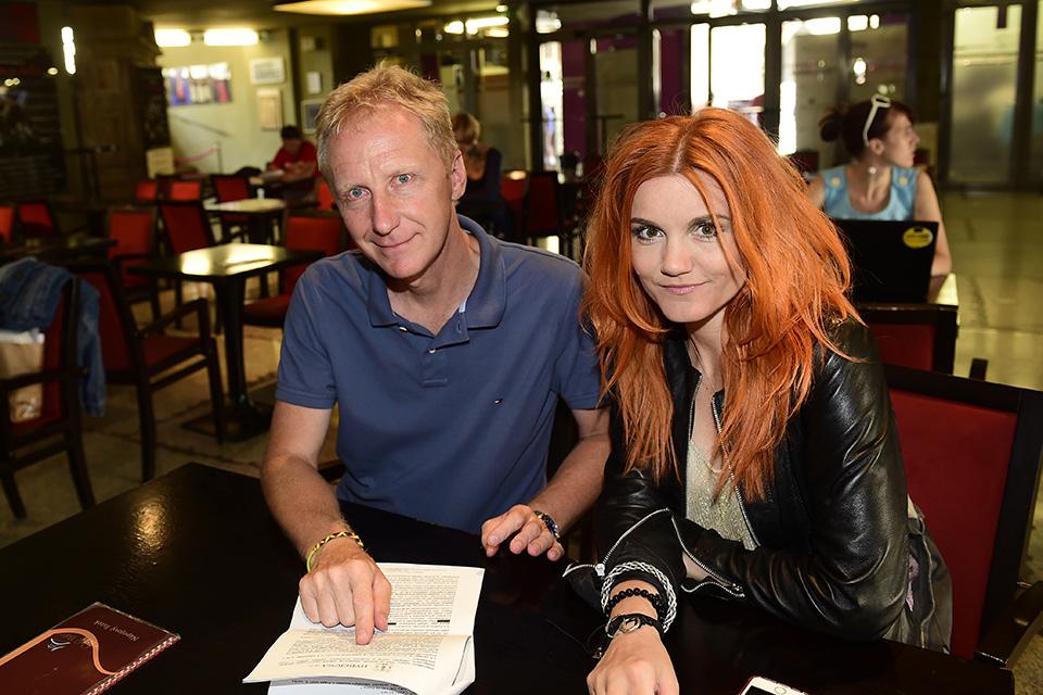 Producent Michal Mückstein a Iva Marešová