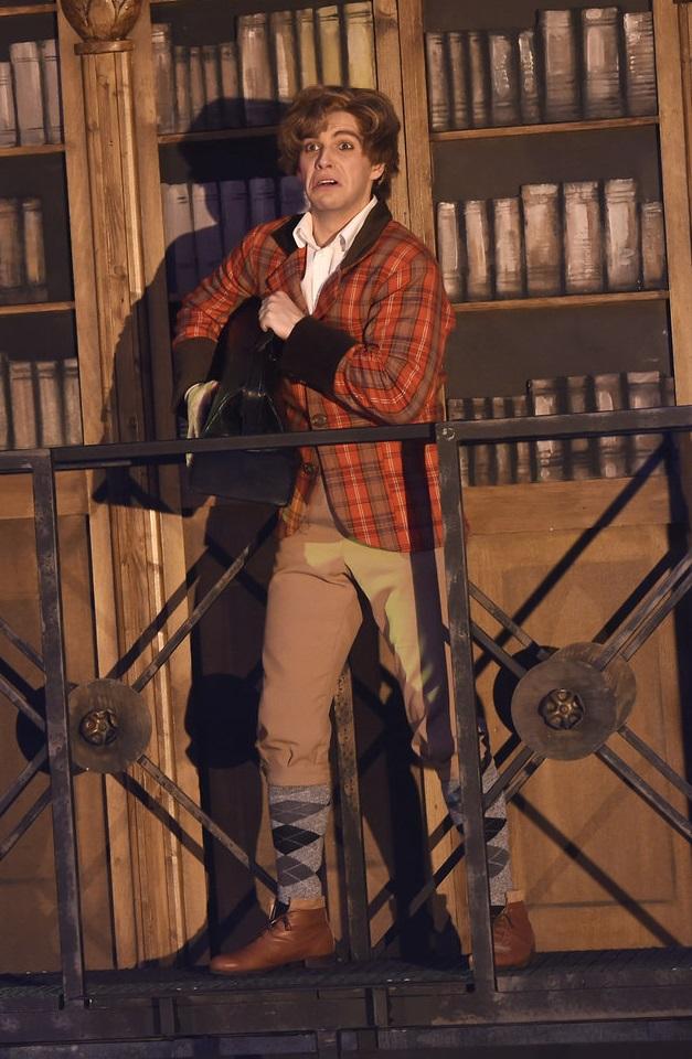 Michal Bragagnolo jako Alfréd v Plesu upírů