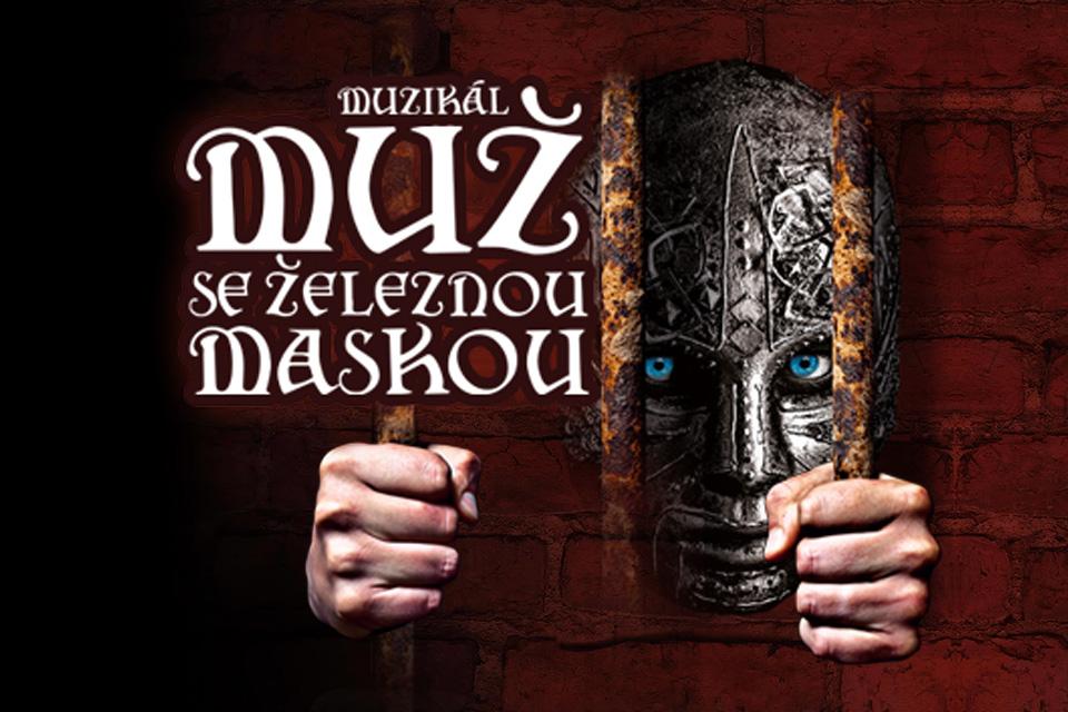 MUŽ SE ŽELEZNOU MASKOU vyhlašuje konkurz do nového muzikálu Michala Davida v Divadle Broadway