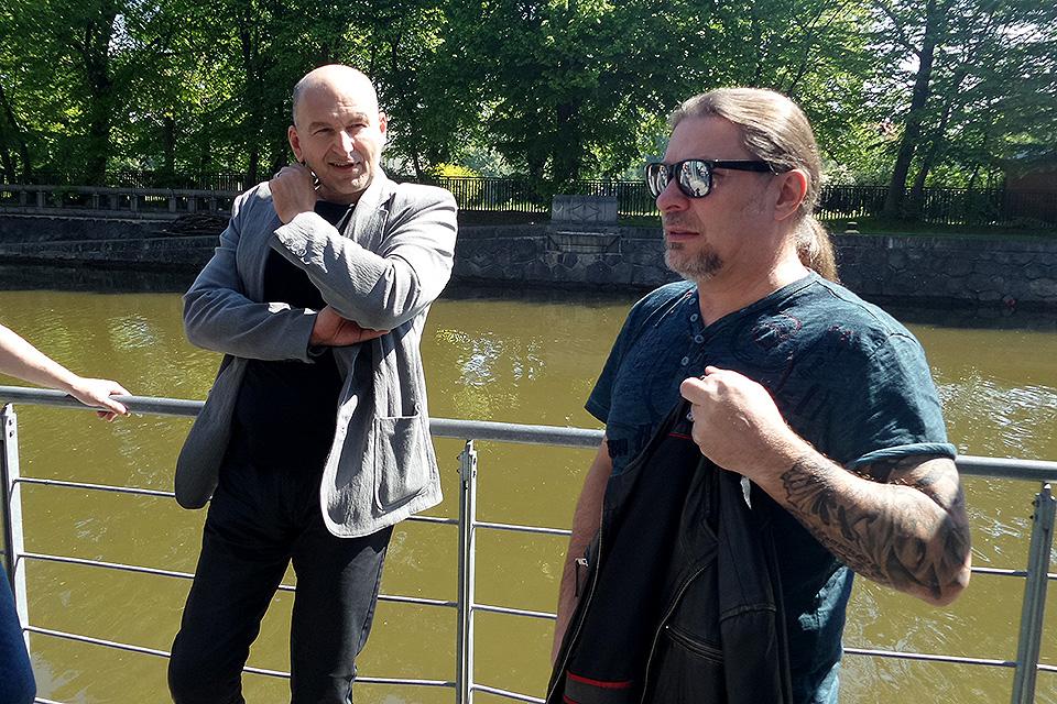 Lou Fanánek Hagen a Petr Kolář