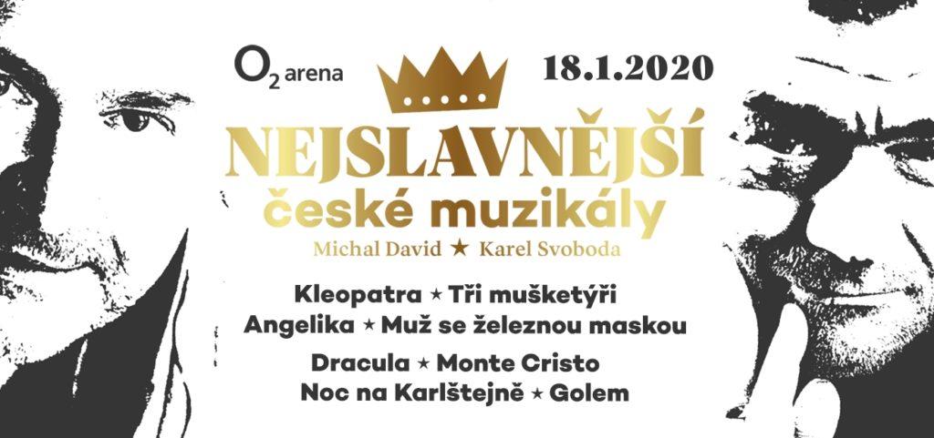 Nejslavnější české muzikály - vizuál