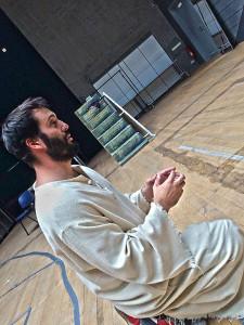 Příprava na Ježíše Václav Noid Bárta Jesus Christ Superstar Hudební divadlo Karlín