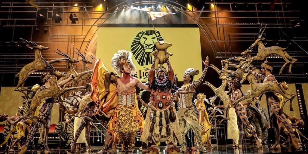 The Lion King na Olivier Awards