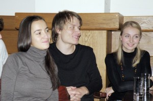 Svetlana Slováková (Wendla), Lukáš Janota (Moric), Ivana Skálová (alternantka Wendly)