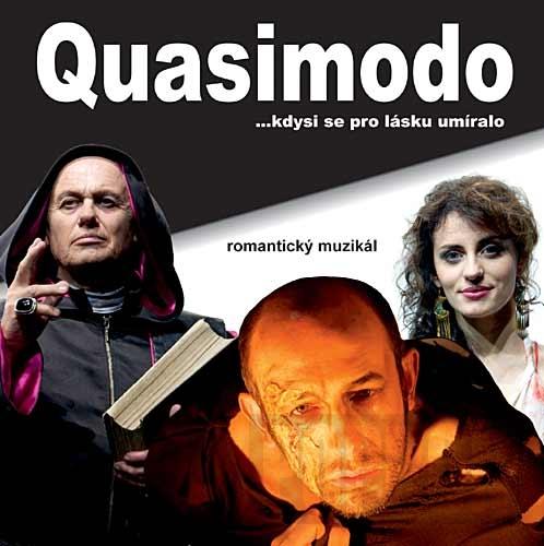 """Vychází CD k muzikálu """"Quasimodo"""""""