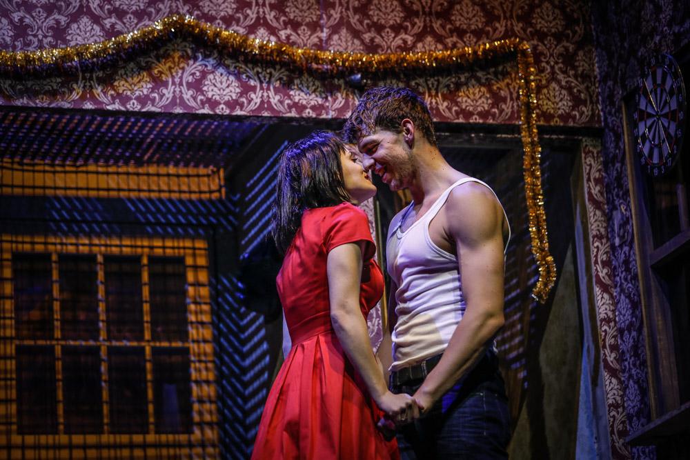 Muzikál není jen o boxu, ale také o lásce (Markéta Procházková & Peter Pecha)
