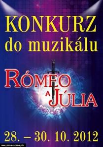 "Konkurz do světového muzikálu ""Rómeo a Júlia"""