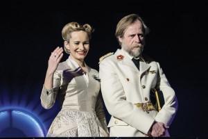 Monika Absolonová a Karel Roden (Evita a Juan Perón)