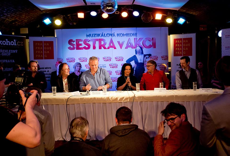 Kryštof Marek, Pavel Polák, Egon Kulhánek, Lucie Bílá, Antonín Procházka, Martin Černý