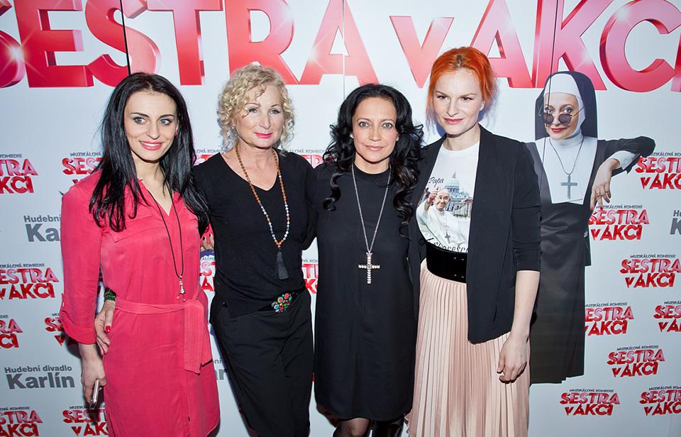 Markéta Procházková, Světlana Nálepková, Lucie Bílá, Iva Pazderková