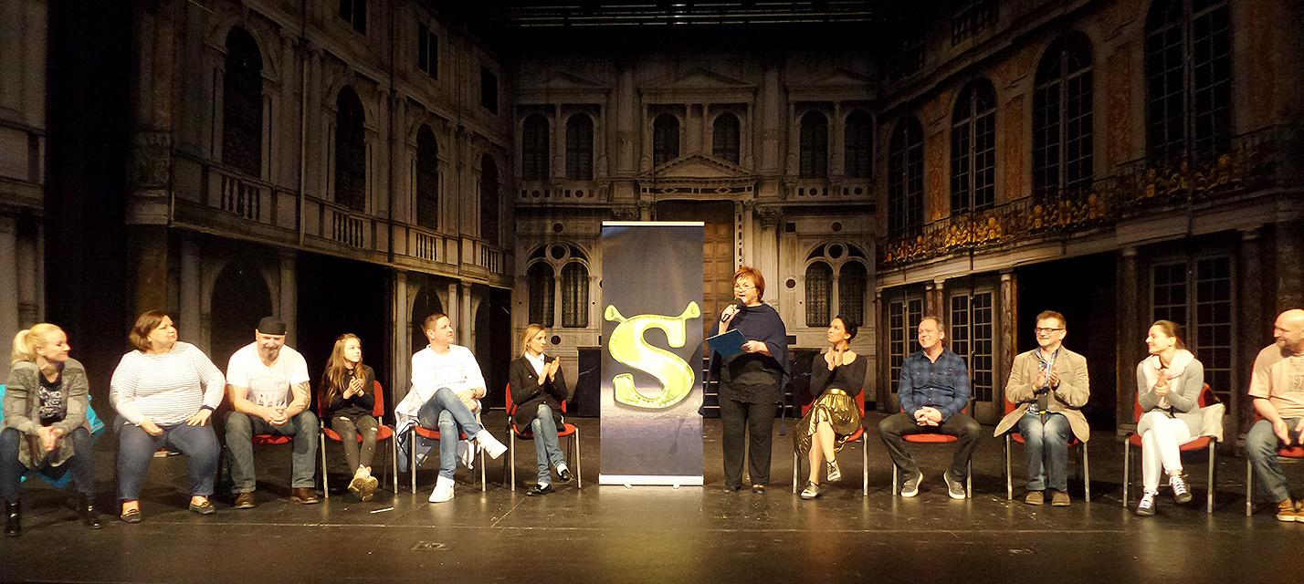 Tisková konference muzikálu Shrek