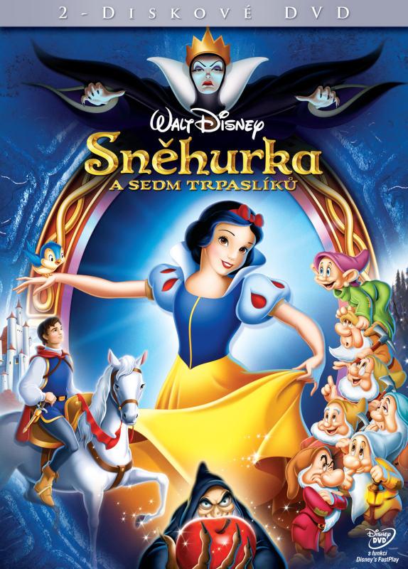 """""""Sněhurka a sedm trpaslíků"""" – tentokrát ve verzi Walta Disneyho – recenze DVD"""